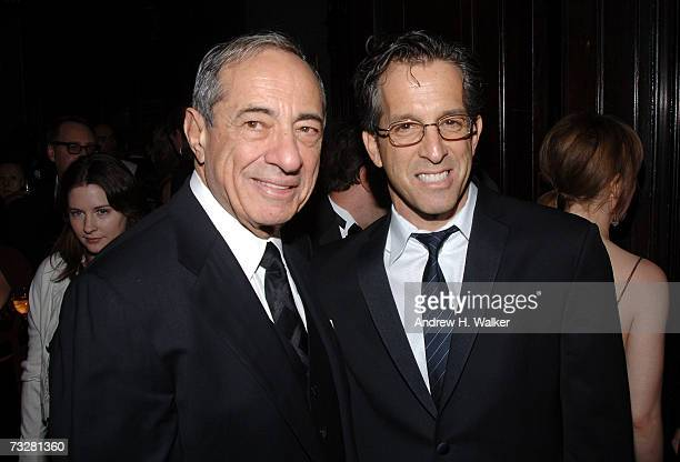 Former New York State Governor Mario Cuomo and Kenneth Cole attend The National Arts Club and Living Beyond Belief presentation of the First Gold...