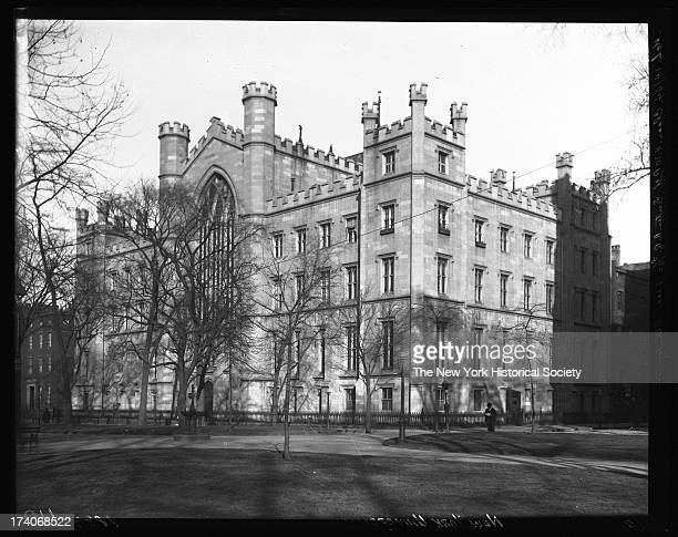 Former New York University building New York New York 1894