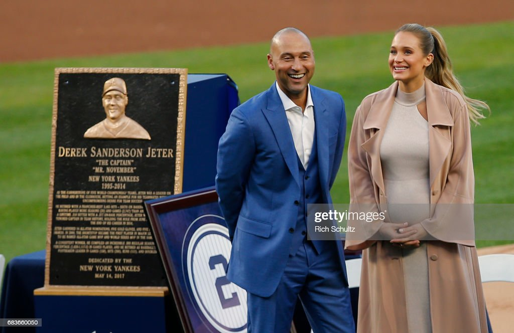 Derek Jeter Ceremony : News Photo