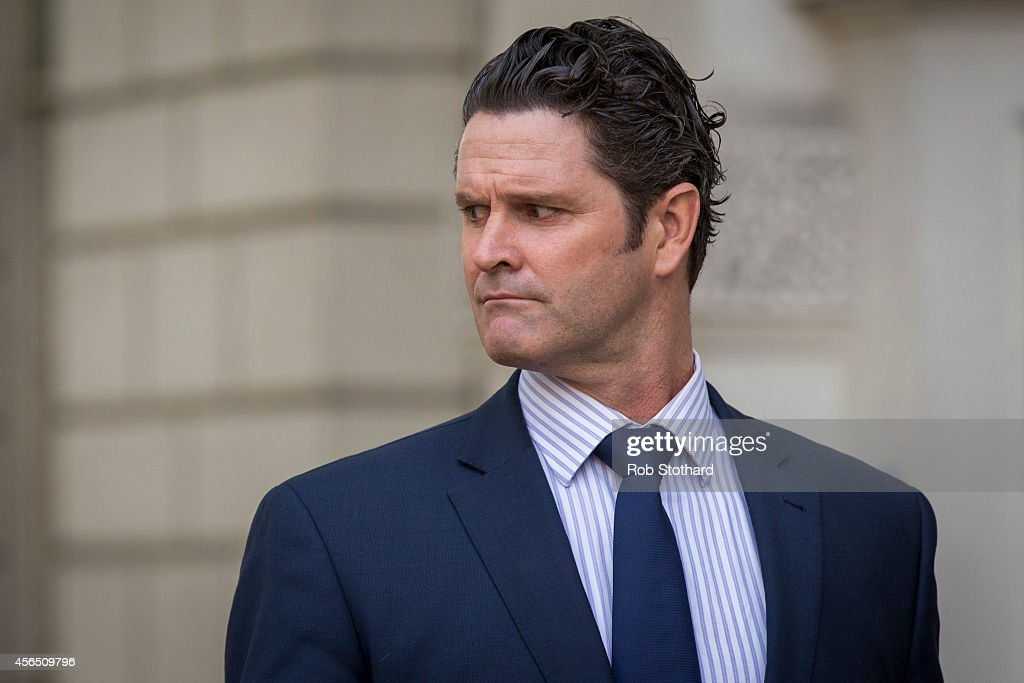 New Zealand Cricketer Chris Cairns Attends Court To Face Charge Of Perjury