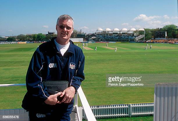 Former New Zealand player John Bracewell, the Gloucestershire coach, at Bristol, in 2001.