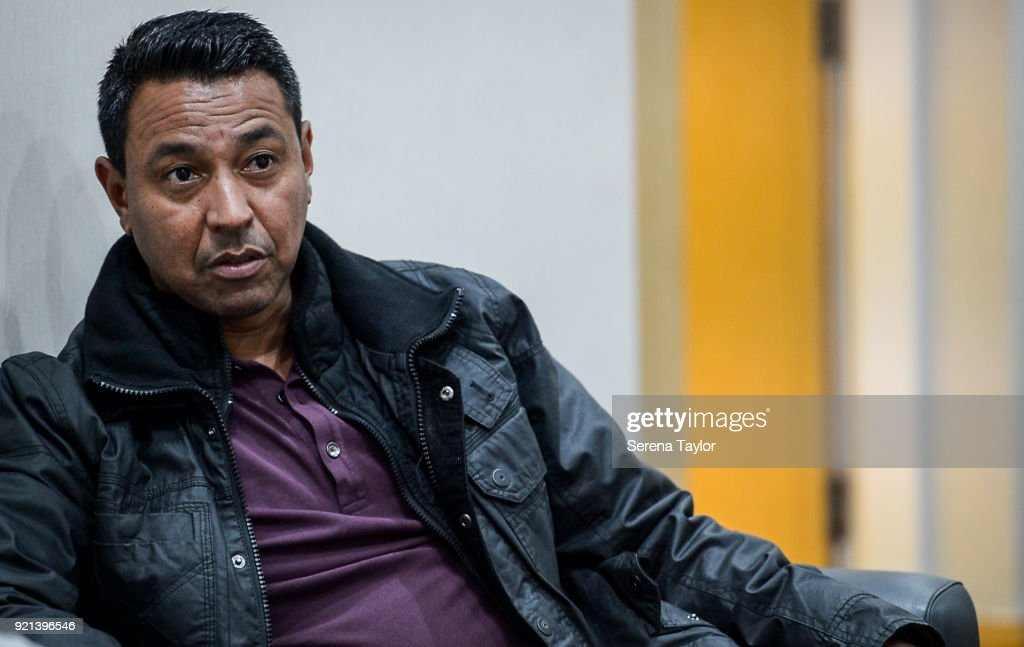 Former Player Nolberto Solano Visits the Newcastle United Training Ground