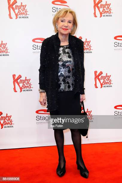 Former news anchor Dagmar Berghoff attends the 'Kinky Boots' Musical Premiere at Stage Operettenhaus on December 3 2017 in Hamburg Germany