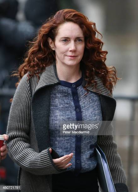 Former News International chief executive Rebekah Brooks arrives at the Old Bailey on November 20, 2013 in London, England. Downing Street's former...