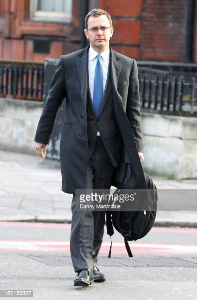 Former News of the World editor Andy Coulson arrives at court to face charges related to Operation Elveden, an investigation into alleged corrupt...
