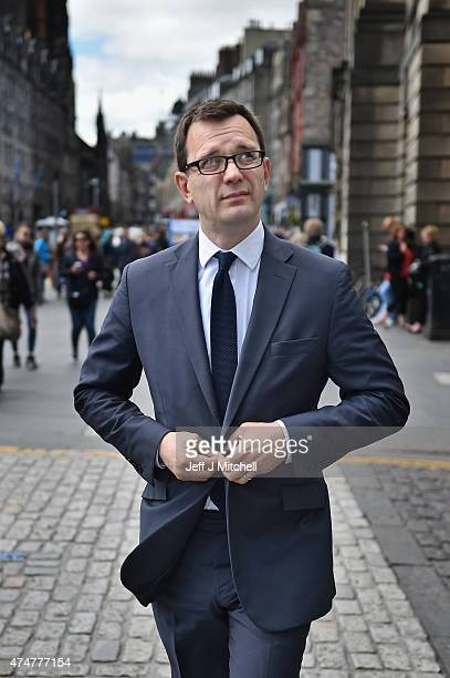 Former News Of The World editor Andy Coulson attends the perjury trial at the High Court in Edinburgh on May 26 2015 in EdinburghScotland Mr Coulson...