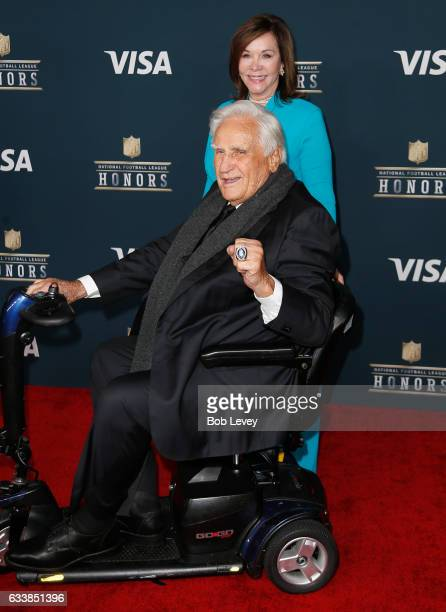 Former NFL coach Don Shula attends 6th Annual NFL Honors at Wortham Theater Center on February 4 2017 in Houston Texas