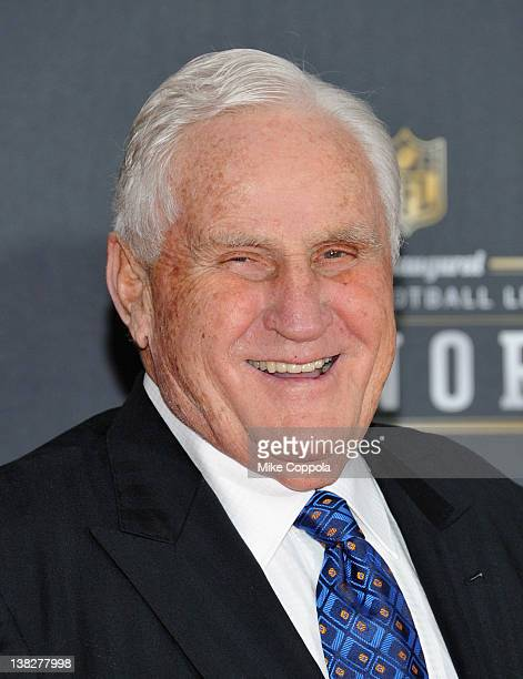 Former NFL coach Don Shula attends NFL Honors And Pepsi Rookie Of The Year at Murat Theatre on February 4 2012 in Indianapolis Indiana