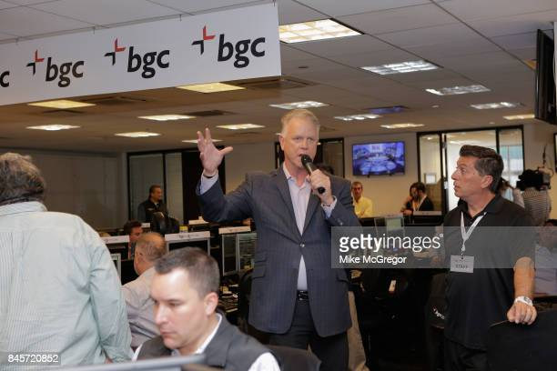 Former NFL football player Boomer Isiason attends Annual Charity Day hosted by Cantor Fitzgerald BGC and GFI at BGC Partners INC on September 11 2017...