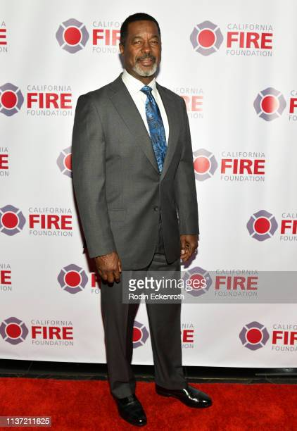 Former NFL football player Dwight Hicks attends the California Fire Foundation 6th Annual Gala 'Celebrating Uncommon Courage' at Avalon Hollywood on...