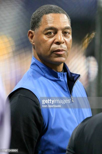 Former NFL great Marcus Allen was on the sidelines enjoying the SEC Championship Game between the UGA Bulldogs and the LSU Tigers on December 7 2019...