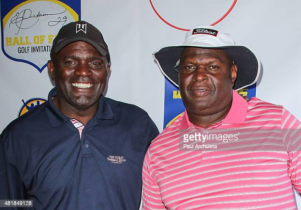 Former NFL Linebacker Lawrence Taylor attends the 2nd annual Hall Of Fame Golf Invitational benefiting The Young Warriors Foundation at Angeles...