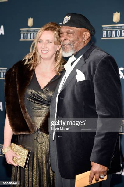 Former NFL player and Pro Football Hall of Fame member Carl Eller attends 6th Annual NFL Honors at Wortham Theater Center on February 4 2017 in...