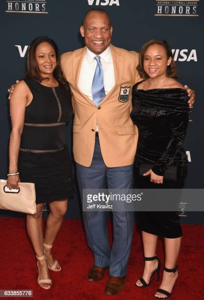 Former NFL player and pro football Hall of Famer Aeneas Williams attends 6th Annual NFL Honors at Wortham Theater Center on February 4 2017 in...
