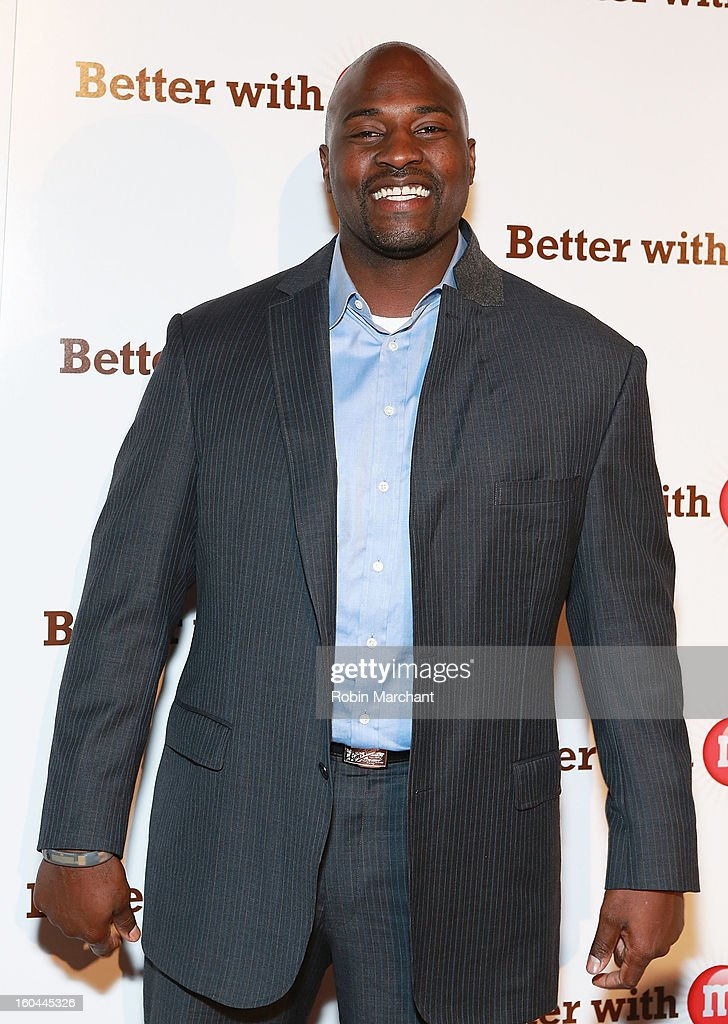 Former NFL player and sports analyst, Marcellus Wiley attends the M&M's Better With M Party at The Foundry on January 31, 2013 in New Orleans, Louisiana.