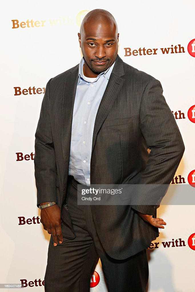 Former NFL player and sports analyst Marcellus Wiley attends the M&M's Better With M Party at The Foundry on January 31, 2013 in New Orleans, Louisiana.