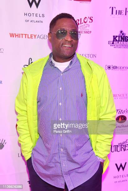 Former NFL Player Andre Rison attends Lawrence LT Taylor's Surprise 60th Birthday at W Hotel Atlanta Midtown on January 31 2019 in Atlanta Georgia