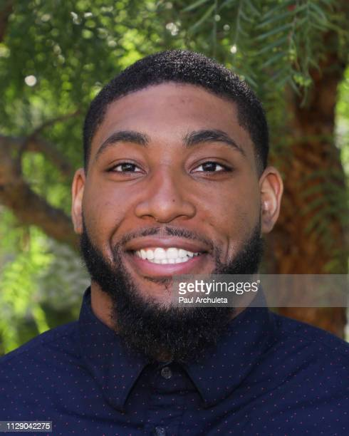 Former NFL Player Author Devon Still visits Hallmark's 'Home Family' at Universal Studios Hollywood on February 11 2019 in Universal City California