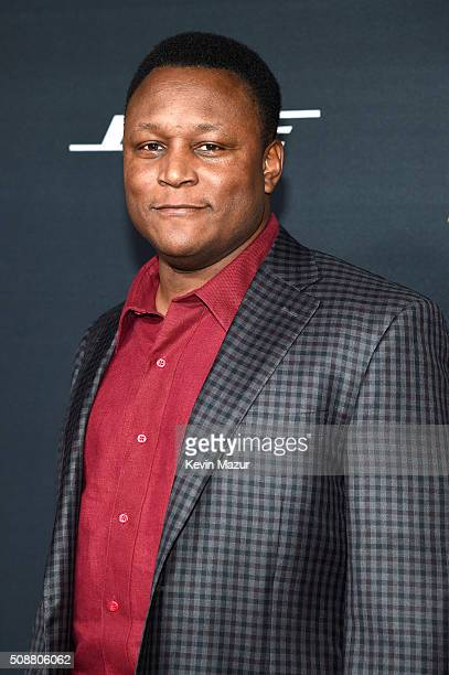 Former NFL player Barry Sanders attends the 5th annual NFL Honors at Bill Graham Civic Auditorium on February 6 2016 in San Francisco California