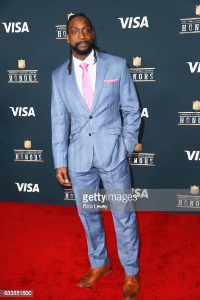 Former NFL player Charles Tillman attends 6th Annual NFL Honors at Wortham Theater Center on February 4 2017 in Houston Texas