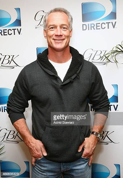 Former NFL player Daryl Johnston attends DirecTV Beach Bowl 2014 at the Gansevoort Hotel on January 31 2014 in New York City