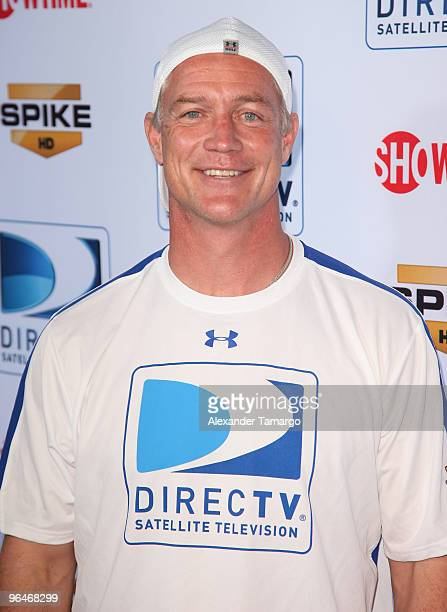 Former NFL player Daryl Johnston attends the Fourth Annual DIRECTV Celebrity Beach Bowl at DIRECTV Celebrity Beach Bowl Stadium South Beach on...