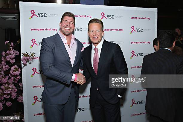 Former NFL player David Diehl and news anchor Chris Wragge attend as Young Survival Coalition presents 'In Living Pink' an evening celebrating and...