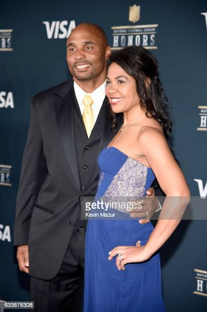 Former NFL player Donovin Darius attends 6th Annual NFL Honors at Wortham Theater Center on February 4 2017 in Houston Texas