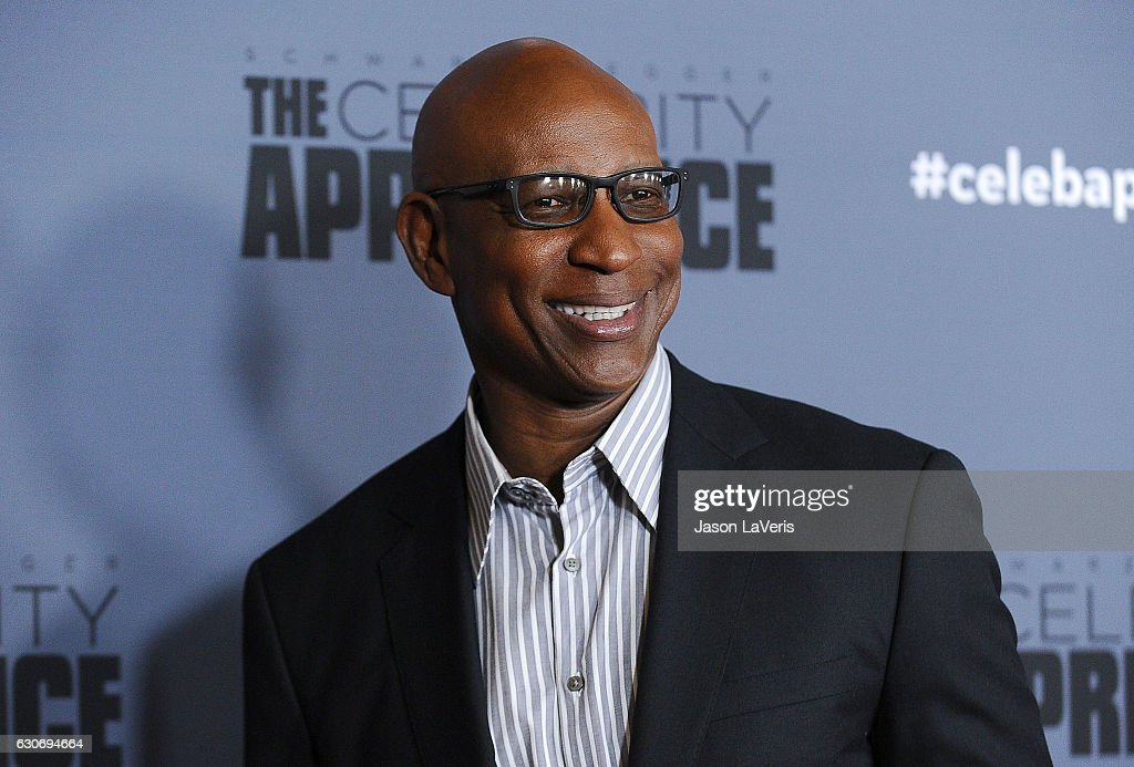 Former NFL player Eric Dickerson attends the press junket For NBC's 'Celebrity Apprentice' at The Fairmont Miramar Hotel & Bungalows on January 28, 2016 in Santa Monica, California.
