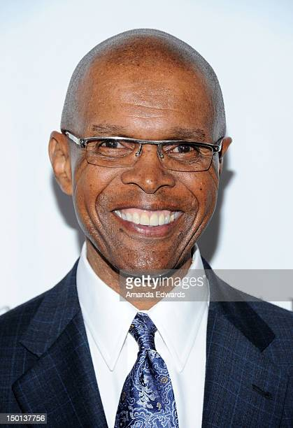 Former NFL player Gale Sayers arrives at the 12th Annual Harold Pump Foundation Gala on August 10 2012 in Los Angeles California