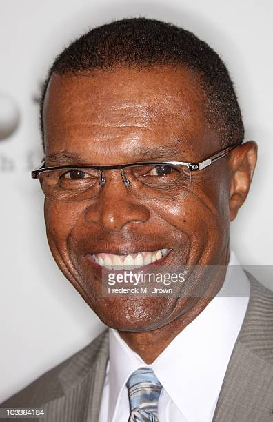 Former NFL player Gale Sayers attends the 10th annual Harold Pump Foundation Gala at the Hyatt Regency Century Plaza Hotel on August 12 2010 in...