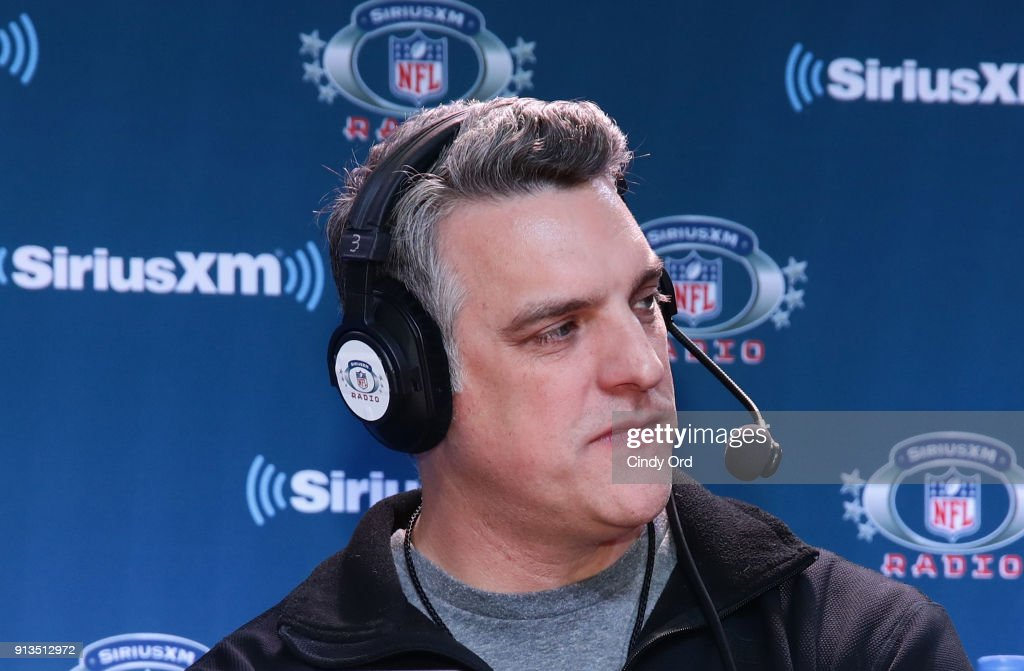Former NFL player Gus Frerotte attends SiriusXM at Super Bowl LII Radio Row at the Mall of America on February 2, 2018 in Bloomington, Minnesota.