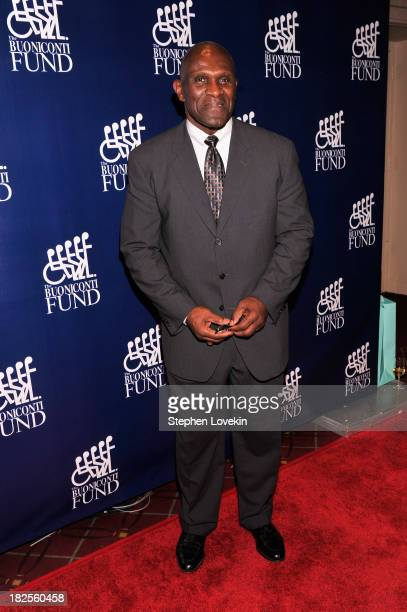 Former NFL Player Harry Carson attends the 28th Annual Great Sports Legends Dinner to Benefit The Buoniconti Fund To Cure Paralysis at The...