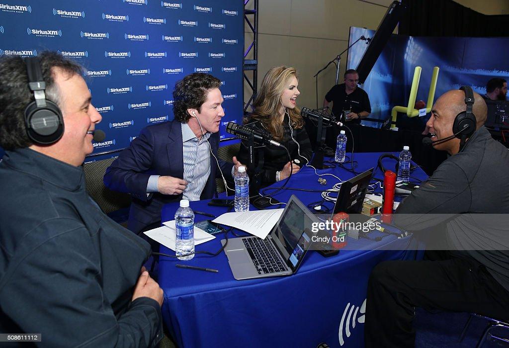 SiriusXM at Super Bowl 50 Radio Row - Day 2 : News Photo