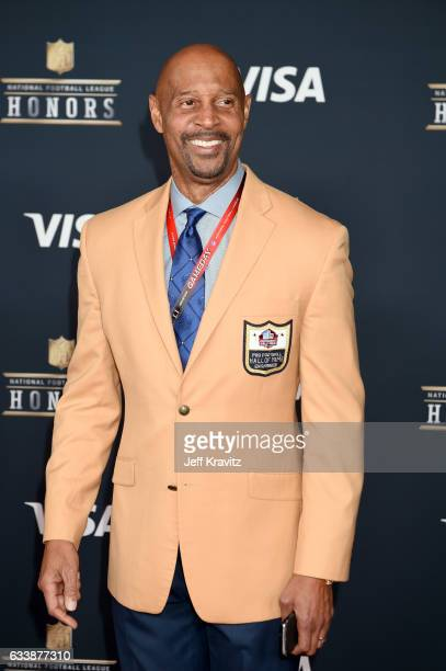 Former NFL player James Lofton attends 6th Annual NFL Honors at Wortham Theater Center on February 4 2017 in Houston Texas
