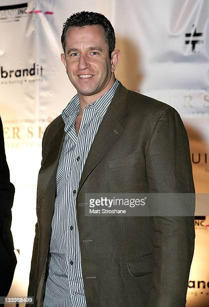 Former NFL Player Jay Fiedler arrives at the Super Skins Kickoff Party hosted by Nick Lachey and Jimmie Johnson at the Hula Bay Club on January 30,...