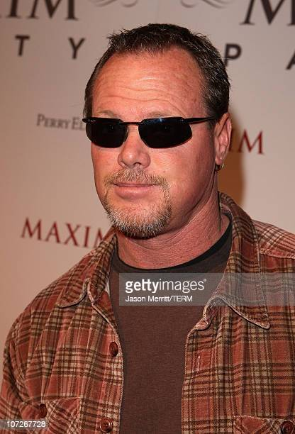Former NFL player Jim McMahon attends the MAXIM magazine kicks off Super Bowl weekend at the Grand Opening of Stone Rose Lounge Scottsdale on...
