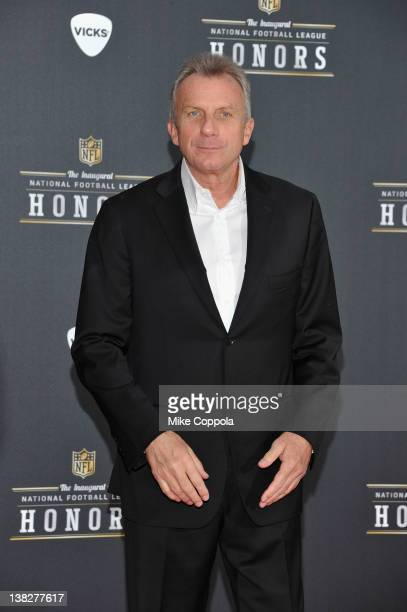 Former NFL player Joe Montana attends NFL Honors And Pepsi Rookie Of The Year at Murat Theatre on February 4 2012 in Indianapolis Indiana