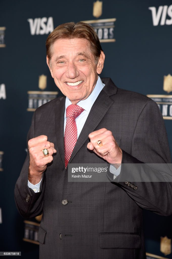 Former NFL player Joe Namath attends 6th Annual NFL Honors at Wortham Theater Center on February 4, 2017 in Houston, Texas.