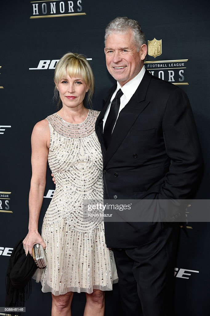 Former NFL player John Riggins and Lisa-Marie Riggins attend the 5th annual NFL Honors at Bill Graham Civic Auditorium on February 6, 2016 in San Francisco, California.