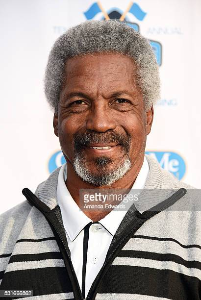 Former NFL player Kermit Alexander arrives at the VIP celebrity cocktail reception for the 10th Annual Jim Mora Celebrity Golf Classic For The Jim...