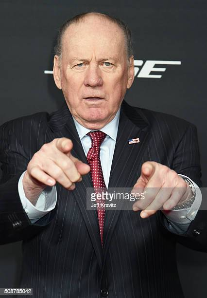 Former NFL player Len Dawson attends the 5th Annual NFL Honors at Bill Graham Civic Auditorium on February 6 2016 in San Francisco California