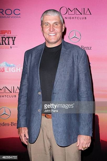 Former NFL player Mark Rypien attends ESPN the Party at WestWorld of Scottsdale on January 30 2015 in Scottsdale Arizona