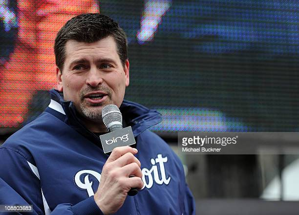 Former NFL player Mark Schlereth attends the Bing National Tailgating Championship at Sundance Square on February 3 2011 in Fort Worth Texas