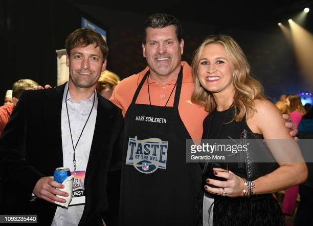 Former NFL player Mark Schlereth attends the Taste of The NFL 28th anniversary celebration of Party With A Purpose at The Cobb Galleria Centre on...