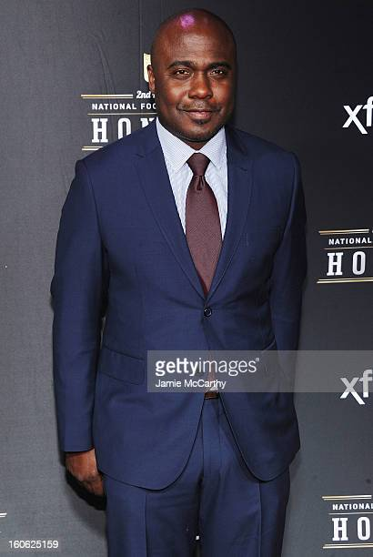 Former NFL player Marshall Faulk attends the 2nd Annual NFL Honors at Mahalia Jackson Theater on February 2 2013 in New Orleans Louisiana