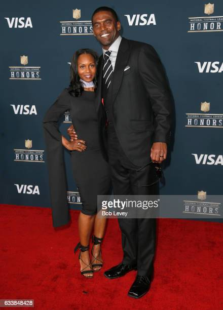 Former NFL player Randy Moss attends 6th Annual NFL Honors at Wortham Theater Center on February 4 2017 in Houston Texas
