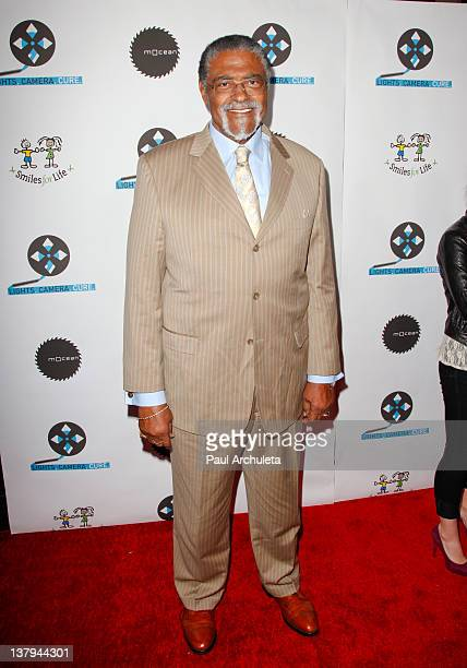 Former NFL player Rosey Grier attends the 'Lights Camera Cure 2012 Hollywood DanceAThon' at Avalon on January 29 2012 in Hollywood California