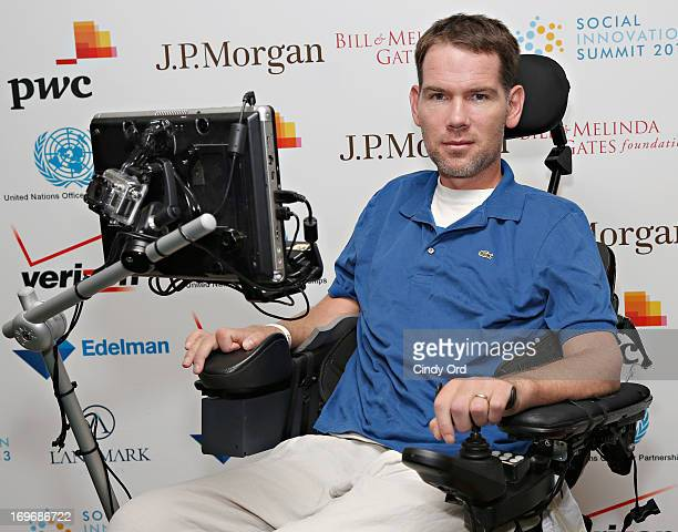Former NFL player Steve Gleason attends the Social Innovation Summit May 2013 Day Two on May 30 2013 in New York City