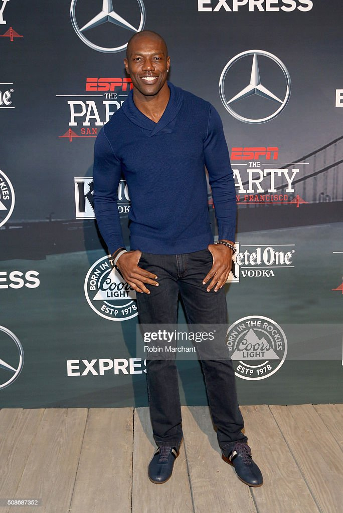 Former NFL player Terrell Owens attends ESPN The Party on February 5, 2016 in San Francisco, California.